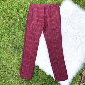Tory Burch holiday cropped pants